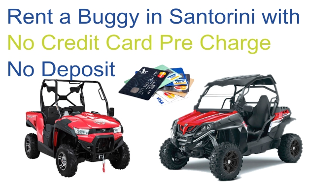 santorini buggy hire